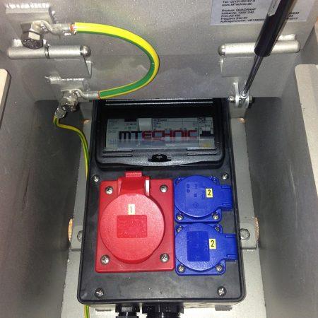 Unterflurelektrant QUADRANT mit Sicherung vor Ort
